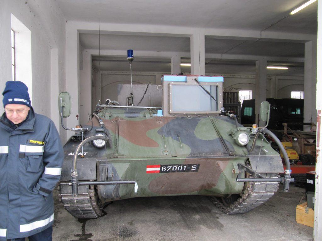 Übung Löschpanzer